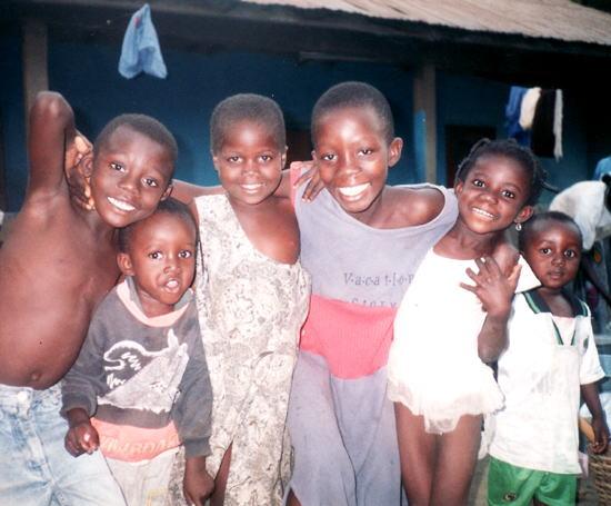 ガーナ:ボルガタンガの居候先にて